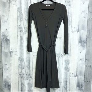 James Perse | 1/small | belted Henley dress